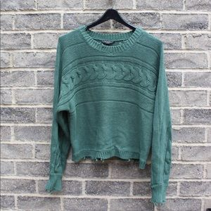 AEO Distressed Pullover